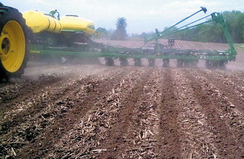 Strip-Till precision ag application