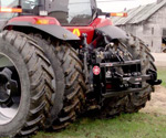 400DX hydraulic hitch mounted on a CaseIH MX285 tractor