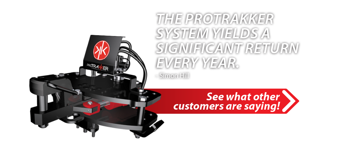 ProTrakker testimonial: The Protrakker System yields a significant return every year.